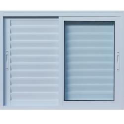 Imagens do produto Janela Veneziana 3 Folhas com Vidro temperado 6mm.