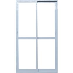 Imagem do produto Porta de correr 2 folhas com Vidro Temperado 6mm.