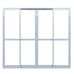 Imagem do produto Porta de correr 4 folhas com vidro temperado 6mm