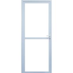 Imagem do produto Porta de Giro 1 folha com Vidro Temperado 6mm
